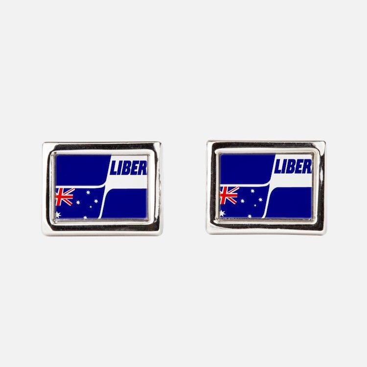 Liberal Party Logo Rectangular Cufflinks