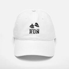 Born To Run Baseball Baseball Cap