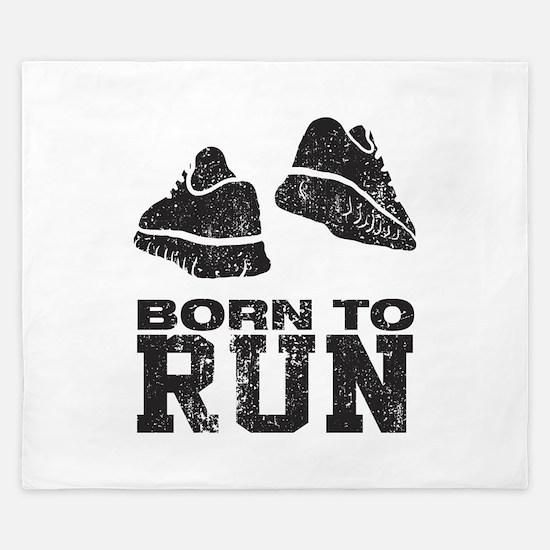 Born To Run King Duvet