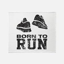 Born To Run Throw Blanket