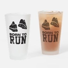 Born To Run Drinking Glass