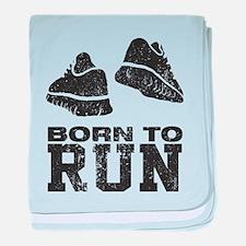Born To Run baby blanket