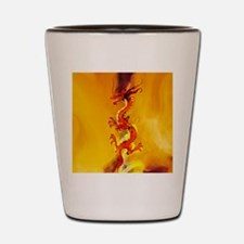 Cute Fire dancer Shot Glass