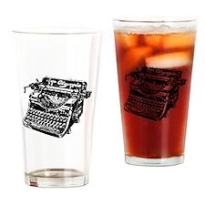VINTAGE TYPEWRITER Drinking Glass