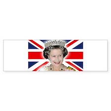 HM Queen Elizabeth II Bumper Bumper Sticker