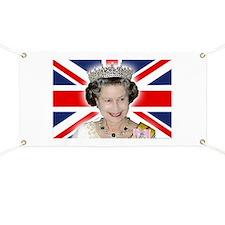 HM Queen Elizabeth II Banner