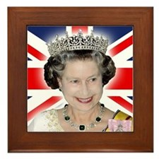 HM Queen Elizabeth II Framed Tile