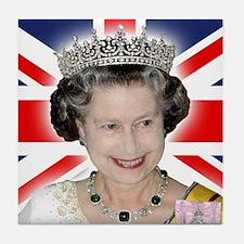HM Queen Elizabeth II Tile Coaster