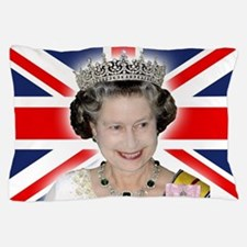 HM Queen Elizabeth II Pillow Case