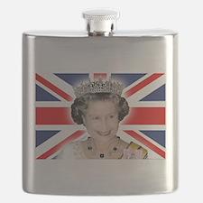 HM Queen Elizabeth II Flask