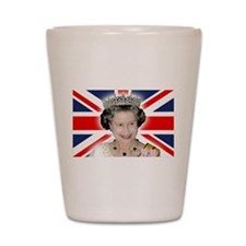 HM Queen Elizabeth II Shot Glass