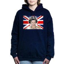 HM Queen Elizabeth II Women's Hooded Sweatshirt