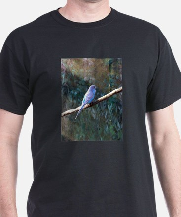 Blue Budgie T-Shirt