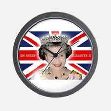 HM Queen Elizabeth II Wall Clock