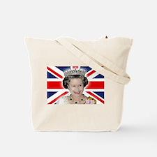 HM Queen Elizabeth II Tote Bag