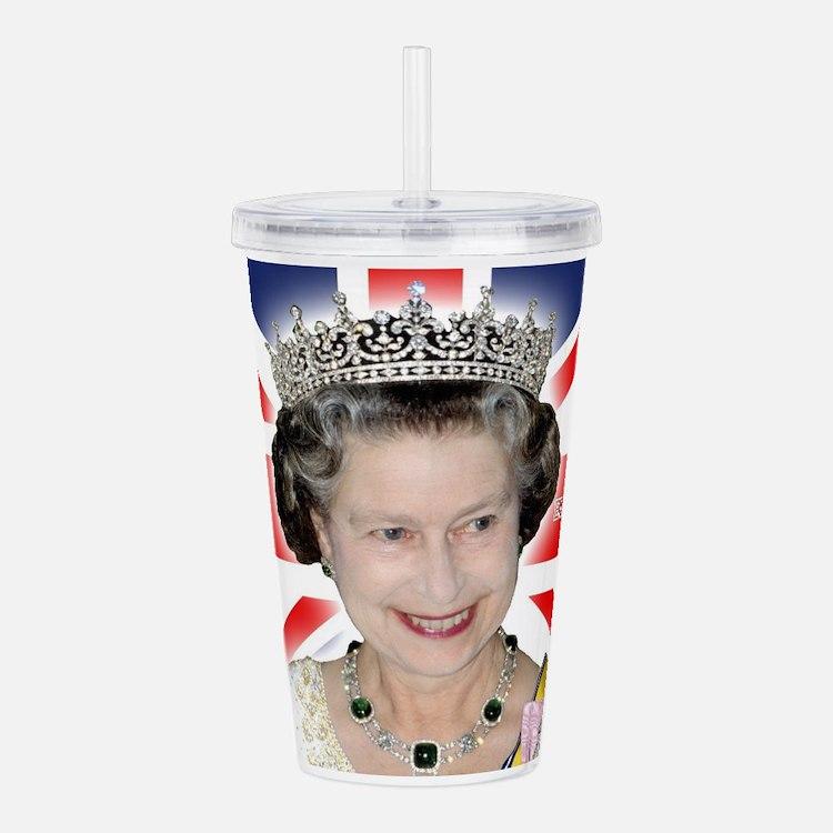 HM Queen Elizabeth II Acrylic Double-wall Tumbler