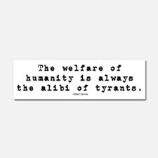 Cute Tyranny of government Car Magnet 10 x 3