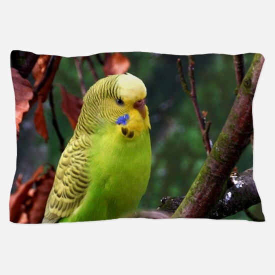 Funny Budgie Pillow Case