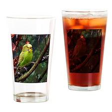 Cute Pet birds Drinking Glass