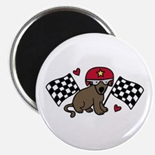 Race Dog Magnets