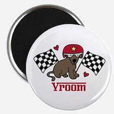 Vroom Dog Magnets