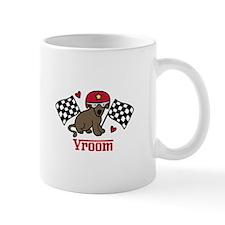 Vroom Dog Mugs
