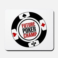 Future Poker Champ Mousepad