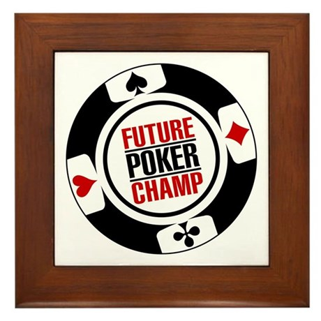 Future Poker Champ Framed Tile