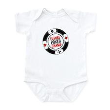 Future Poker Champ Infant Bodysuit
