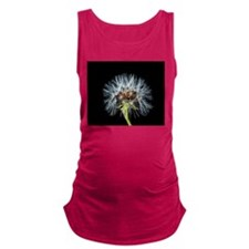 Cute Dandelion seeds blowing in the wind Maternity Tank Top