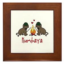 Kumbaya Framed Tile