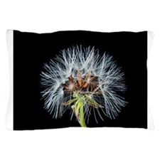 Unique Dandelion seeds blowing in the wind Pillow Case