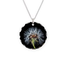 Unique Dandelion seeds blowing in the wind Necklace