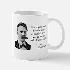 Friedrich Nietzsche Troll Quote Mugs