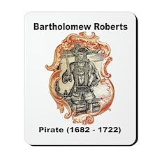 Bartholomew Roberts Pirate Mousepad
