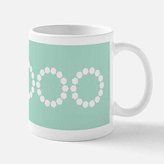 Divine Retro Classic Pastels Mint Green Mugs