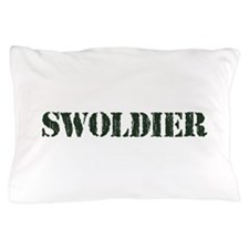 Swoldier Swole US Soldier Pillow Case