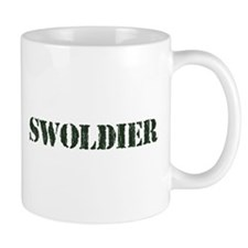 Swoldier Swole US Soldier Mugs