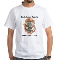 Bartholomew Roberts Pirate (Front) Shirt