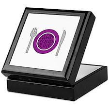 Clean Your Plate Keepsake Box