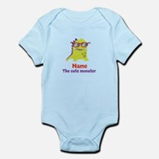 Cute Monster personalized Infant Bodysuit