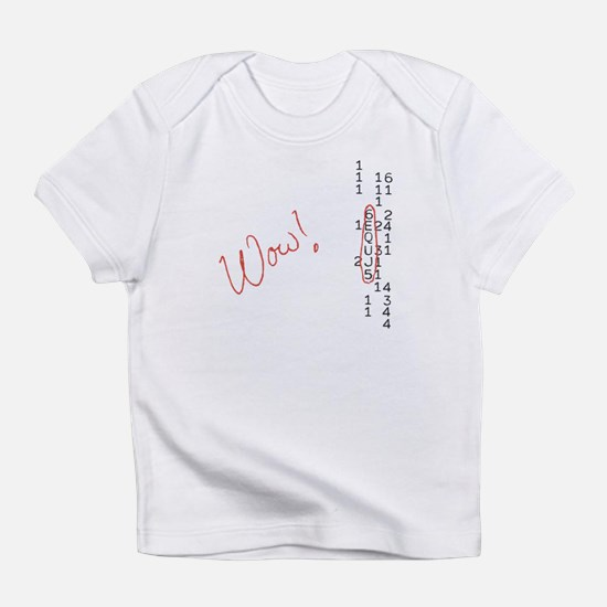 Wow Signal SETI Message Infant T-Shirt