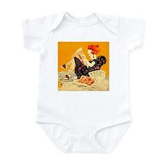The Sunday Morning Flapper Infant Bodysuit
