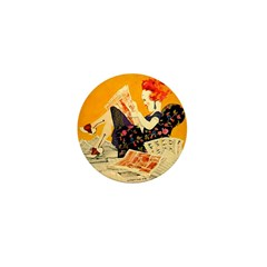 The Sunday Morning Flapper Mini Button (10 pack)