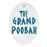Grand Poobah Oval Ornament