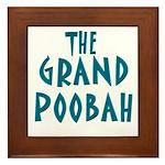 Grand Poobah Framed Tile
