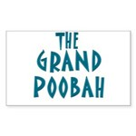 Grand Poobah Rectangle Sticker