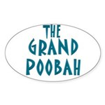 Grand Poobah Oval Sticker