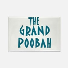 Grand Poobah Rectangle Magnet