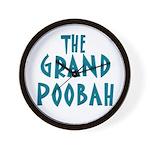Grand Poobah Wall Clock